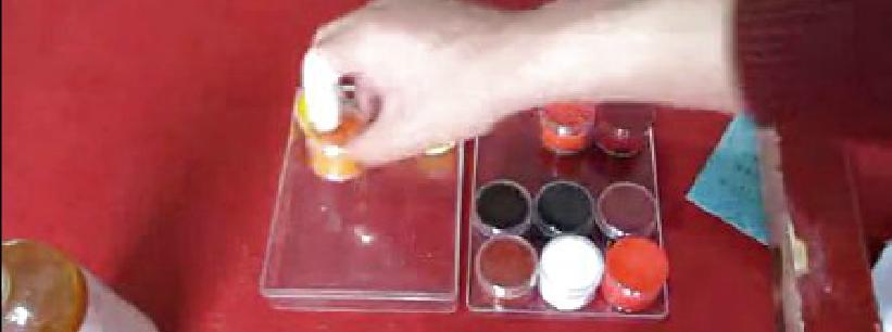 木器维修-色板色粉调色视频-家具美容网